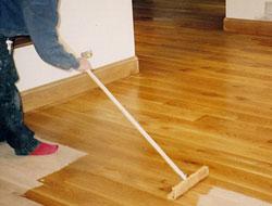 Attractive Preparing For Wood Floor Polishing